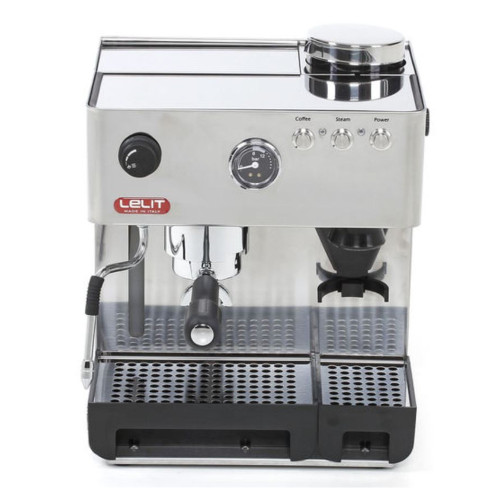 LELIT PL42EMI-NZ Anita Single Boiler 250 mL Vibration Pump Tank Espresso Coffee Machine with built-in Burr Grinder