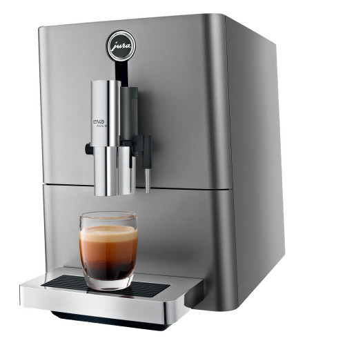 JURA Ena Micro 90 Automatic Espresso Coffee Machine - Silver
