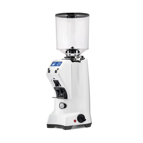 EUREKA ZENITH 65mm Flat Burr Doser-less Coffee Grinder -WHITE