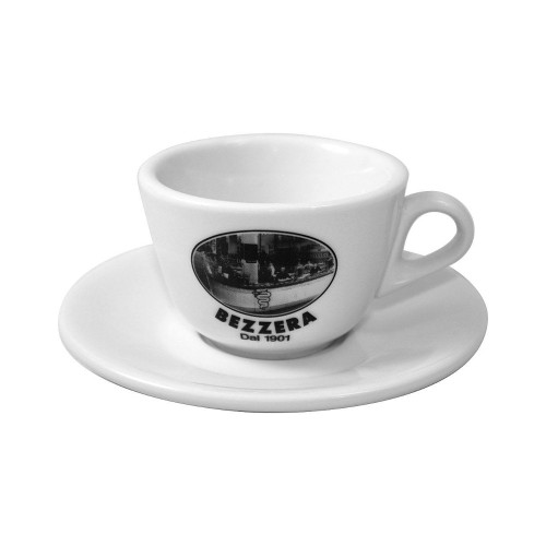 "Bezzera Cappuccino Cups - 170ml - ""Bezzera Since 1901"" Set of 6x"