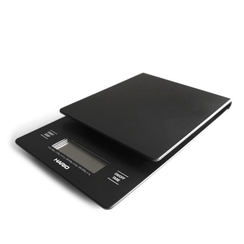 HARIO V60 Drip Scale - Coffee Scale and Timer - 2-2000g 0.1g - BLACK