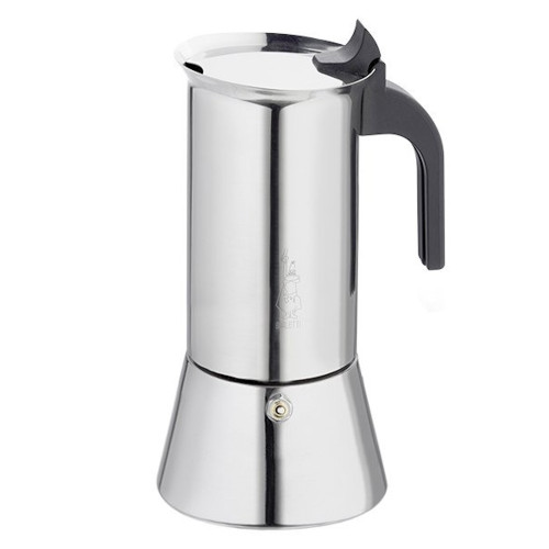 BIALETTI VENUS - 10 Cup - Stovetop Espresso Coffee Maker - Stainless Steel