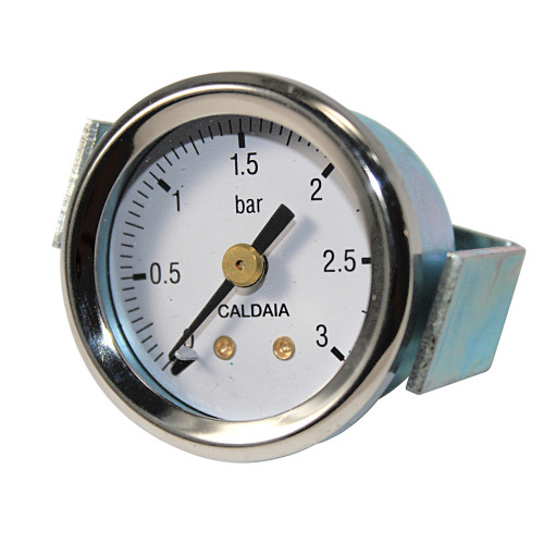 Bezzera Boiler Pressure Gauge OD44mm Hole 40mm 1/8 BSP M Connection 0-3 Bar