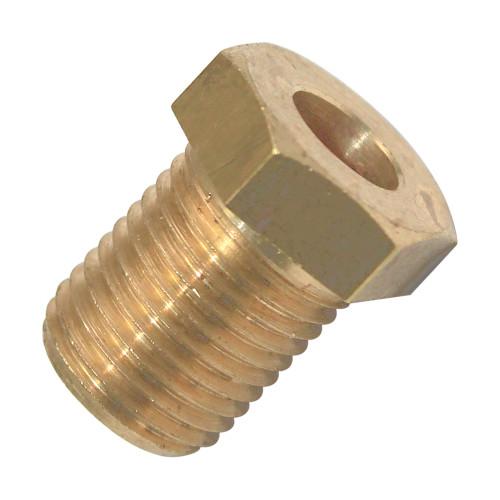 Brass Fitting M10x1 12mm Hex Head ID6mm