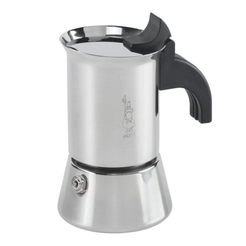 BIALETTI VENUS - 2 Cup - Stovetop Espresso Coffee Maker - Stainless Steel