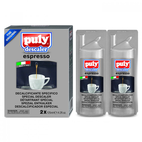 Puly Espresso Machine Descaler 2x125ml