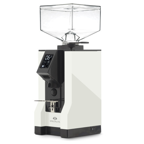 EUREKA MIGNON SPECIALITA 55mm Flat Burr Doser-less Coffee Grinder - WHITE