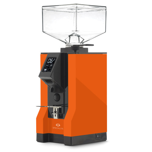 EUREKA MIGNON SPECIALITA 55mm Flat Burr Doser-less Coffee Grinder - ORANGE