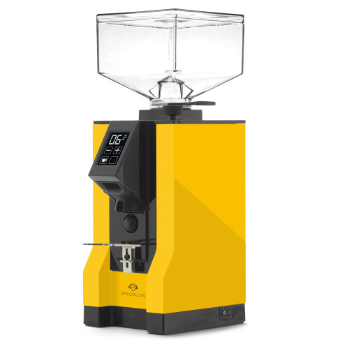 EUREKA MIGNON SPECIALITA 55mm Flat Burr Doser-less Coffee Grinder - YELLOW