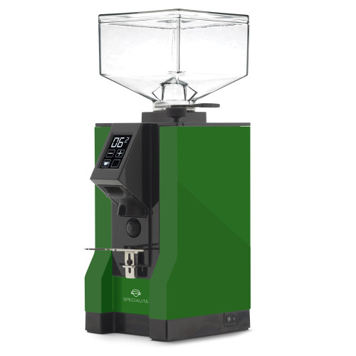 EUREKA MIGNON SPECIALITA 55mm Flat Burr Doser-less Coffee Grinder - LIME GREEN