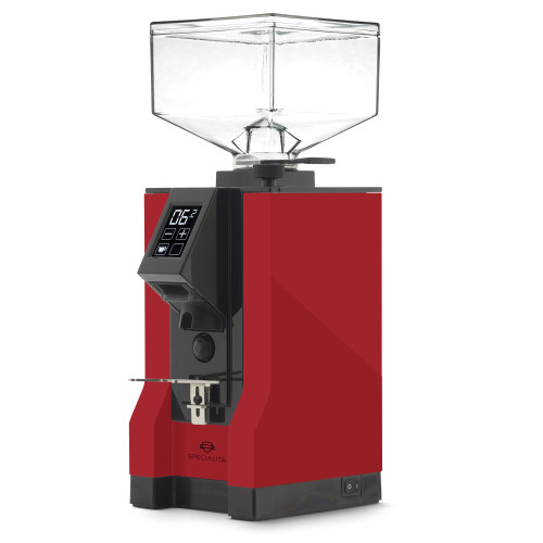 EUREKA MIGNON SPECIALITA 55mm Flat Burr Doser-less Coffee Grinder - FERRARI RED