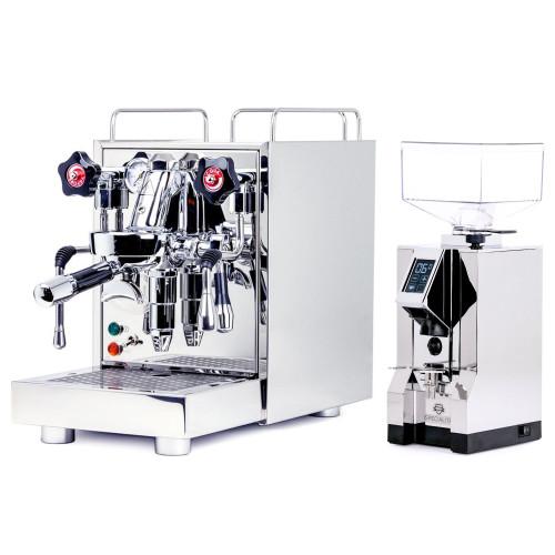 ECM MECHANIKA V SLIM e61 2.2L Espresso Coffee Machine - EUREKA MIGNON SPECIALITA Coffee Grinder - CHROME - Combo
