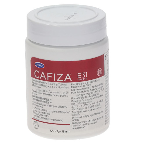 URNEX CAFIZA E31 2g Coffee Machine Cleaning Tablets 100x - Carton of 12