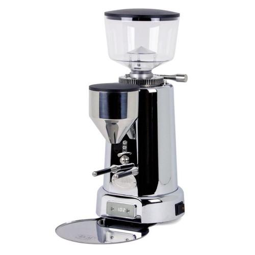 ECM V-Titan 64mm Titanium Flat Burr Doser-less Coffee Grinder - Stainless Steel