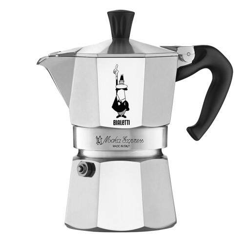 BIALETTI MOKA EXPRESS - 1 Cup - Stovetop Espresso Coffee Maker - Aluminium