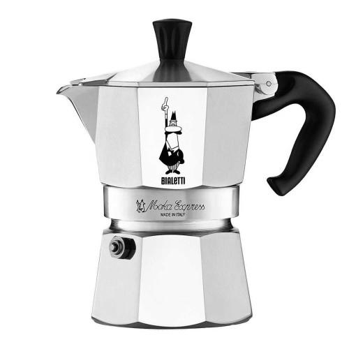 BIALETTI MOKA EXPRESS - 2 Cup - Stovetop Espresso Coffee Maker - Aluminium