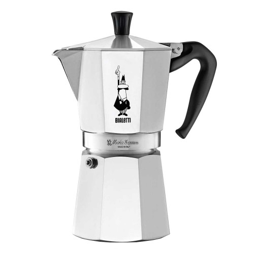 BIALETTI MOKA EXPRESS - 9 Cup - Stovetop Espresso Coffee Maker - Aluminium