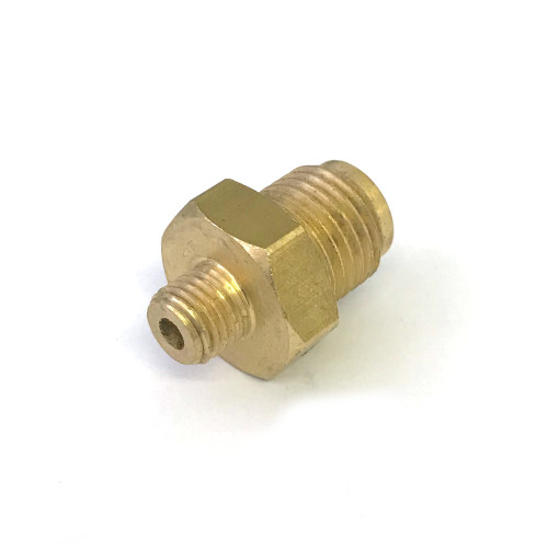 Fitting Straight 1/4BSP M8x1 Brass