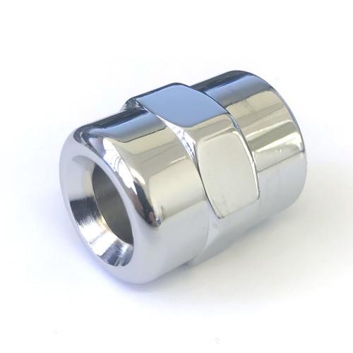 """Chromed nut for lever tap 1/2 """" BSPF"""