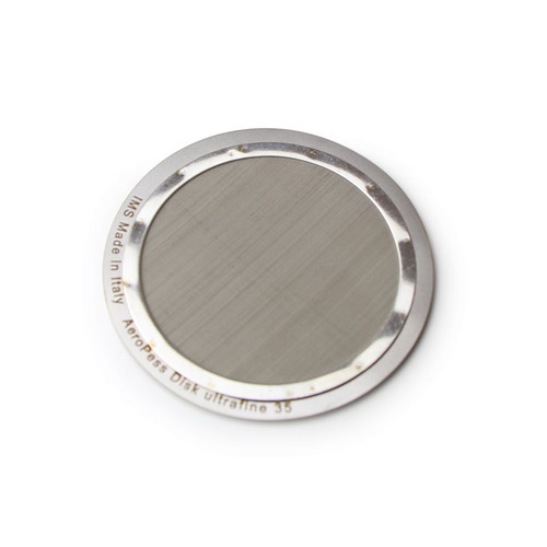 Precision reusable filter for AEROPRESS - 35 micron filtration - OD63 mm - IMS E&B Lab D63UF3.5