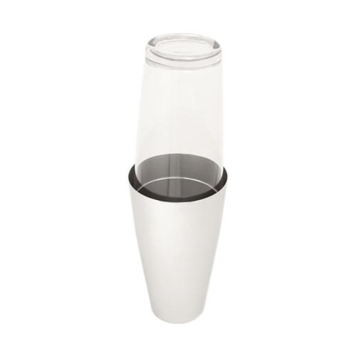MOTTA Boston Cocktail Shaker - Stainless Steel and Glass - 399