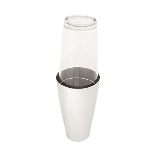 Boston Cocktail Shaker - Stainless Steel and Glass - MOTTA 399