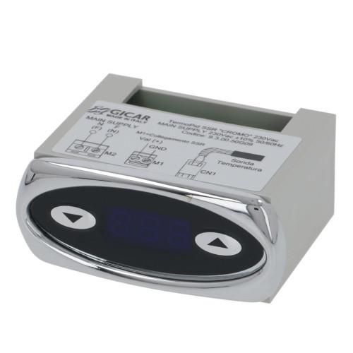 PID Controller Silver Bezel 230V GICAR 9.3.00.50G09