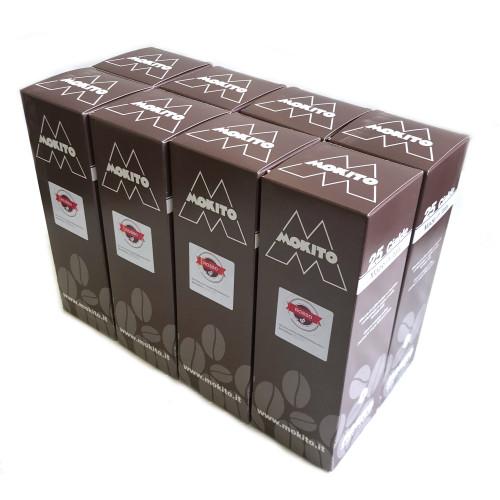 MOKITO ROSSO - ESE Espresso Coffee Pods - 200x pack