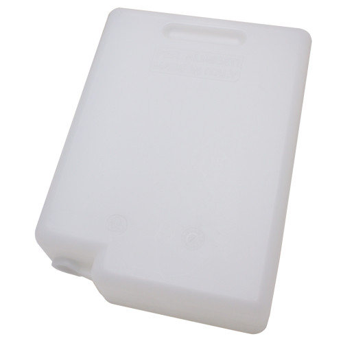 Water tank / container 2.5L - with magnetic level sensor - 175x55x250 mm - White Plastic - LELIT