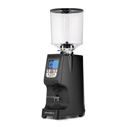 EUREKA Atom Specialty 75mm Flat Burr Doser-less Coffee Grinder - Black