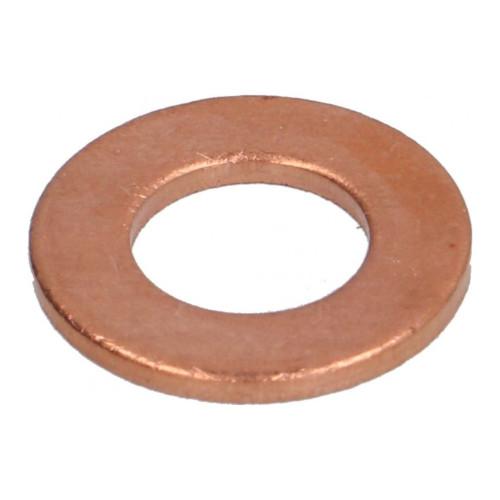 Flat Gasket Copper 12x6.2x1 mm