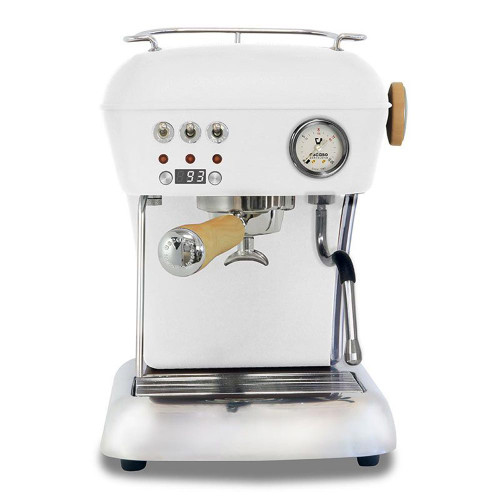 ASCASO DREAM PID Espresso Coffee Machine - MATTE WHITE