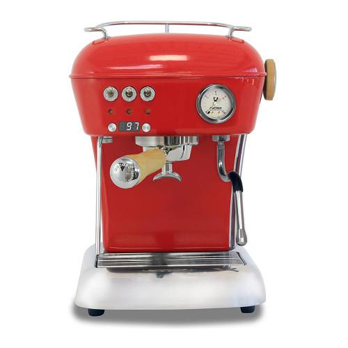 ASCASO DREAM PID Espresso Coffee Machine - GLOSS RED