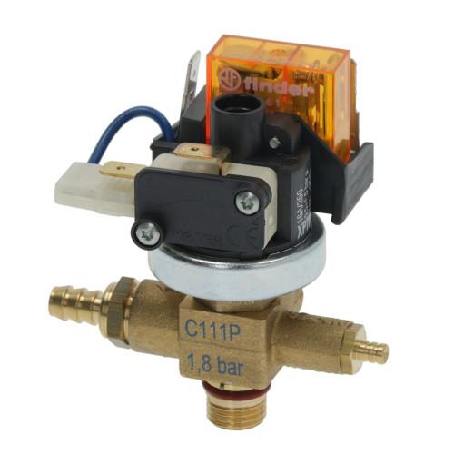 "Pressure Switch MATER XP700 0.5-1.5 BAR - Over-pressure 1.8 BAR / anti-vacuum - Combo valve - 1/4"" BSPM - C111P"
