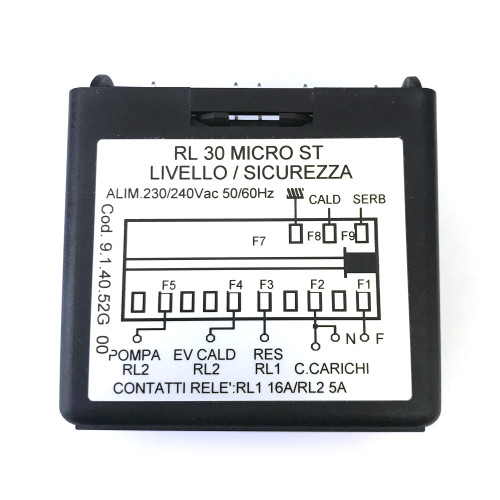 Control Box - Water Level Auto-fill Regulator - RL 30 MICRO ST - GICAR 9.1.40.52G00