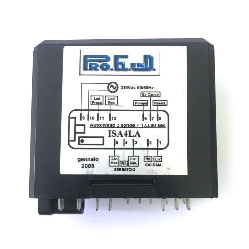 Control Box - Water Level Auto-fill Regulator - ISA4LA - Pro.El.Ind - ISOMAC ALBA