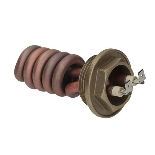 "Heating Element 1200W 230V - 85mm - 2pole - 1.25"" BSP"