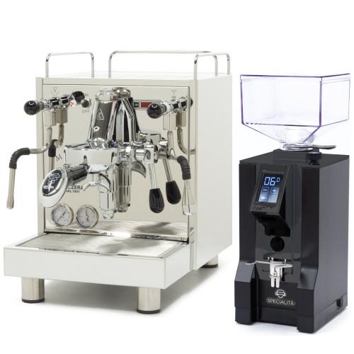 BEZZERA MAGICA e61 PID 2L Espresso Coffee Machine - EUREKA MIGNON SPECIALITA Coffee Grinder - BLACK - Package