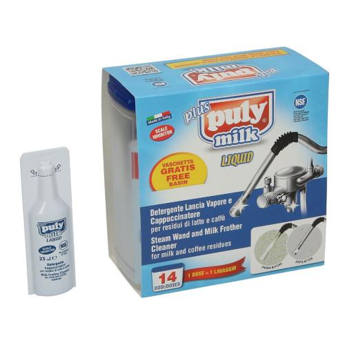 PULY MILK - Coffee machine milk system/wand cleaner/detergent - 14 x 25mL