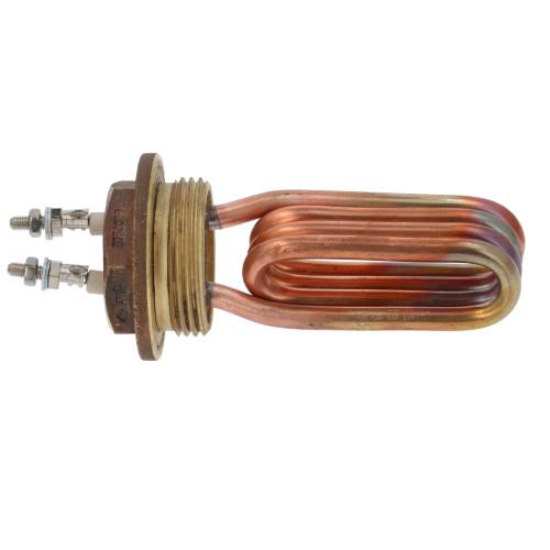 "Heating Element 1300W 220V - L 95mm - 2 pole - 1.25"" BSP"