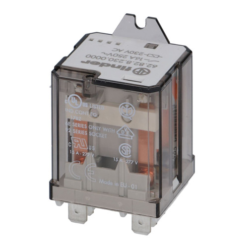 Mechanical Electrical Relay - 2 Contact NO - 16A 230V - FINDER 62.82.8.230.0000