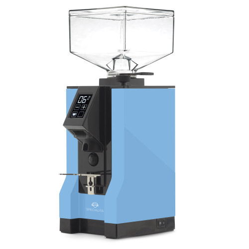 EUREKA MIGNON SPECIALITA 55mm Flat Burr Doser-less Coffee Grinder - PALE BLUE