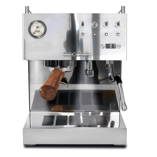 ASCASO STEEL DUO Double Boiler PID Espresso Coffee Machine - STAINLESS STEEL