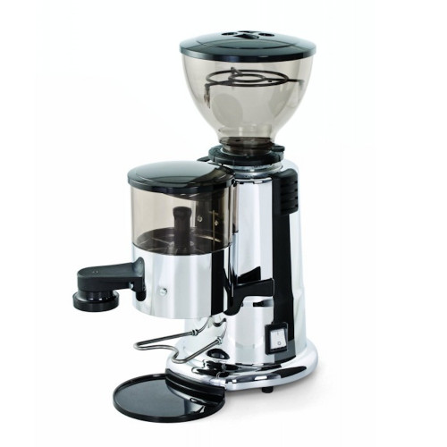 MACAP M4 58mm Flat Burr Doser Coffee Grinder - CHROME - DEMO