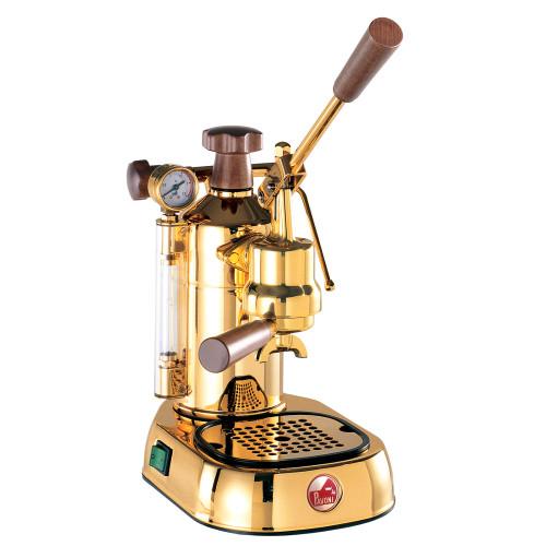 LA PAVONI EUROPICCOLA PROFESSIONAL Lever 1.6L Espresso Coffee Machine - GOLDEN - DISPLAY
