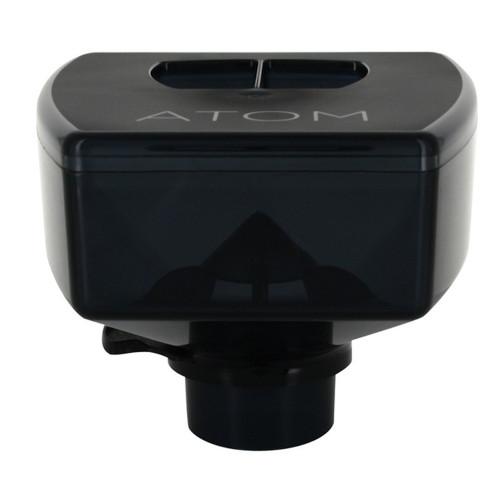 Coffee Grinder Bean Hopper 510g - 144mm x 172mm x 124mm - Dark Grey Tinted - ATOM - EUREKA