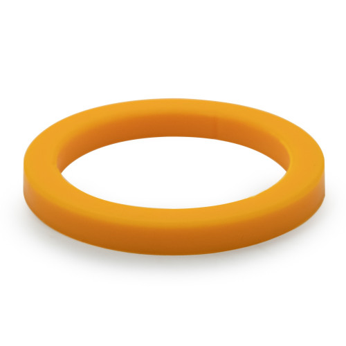 Group-Head Gasket Seal e61 - 73mm x 57mm x 8.0mm - SILICONE ORANGE - CAFFEWORKS