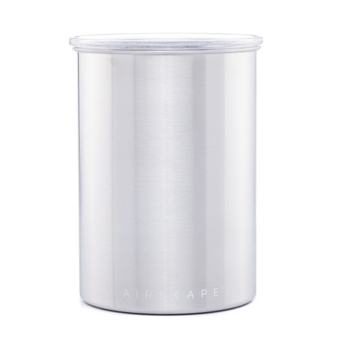 Airscape Coffee and Food Storage Container - STAINLESS STEEL - 500g - 1800mL