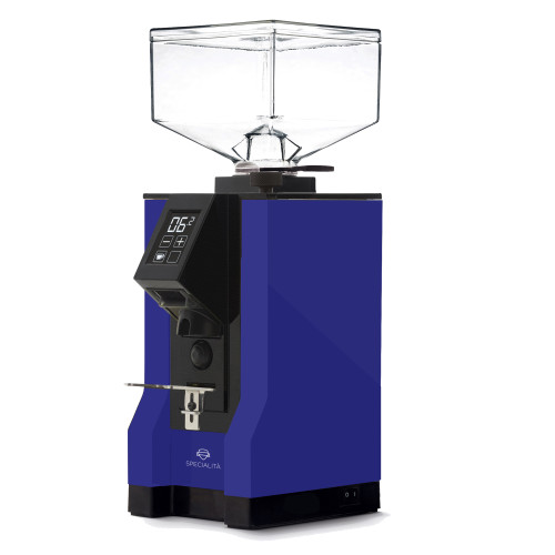 EUREKA MIGNON SPECIALITA 55mm Flat Burr Doser-less Coffee Grinder - BLUE
