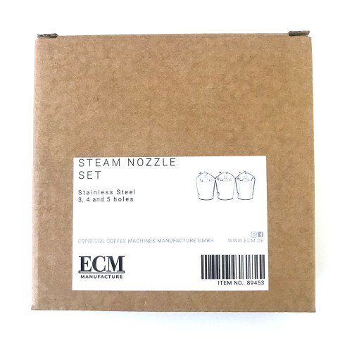 Steam tip / outlet - Set of 3x - 3 hole, 4 hole, 5 hole - ECM 89453